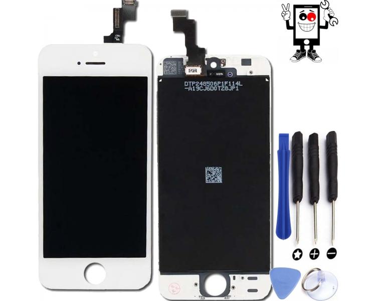 Pełny ekran dla iPhone 5C Biały Biały ARREGLATELO - 1