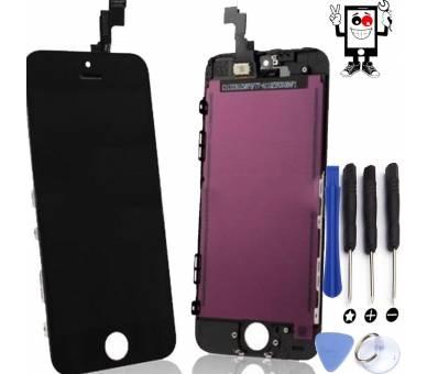 Pantalla Completa Retina para iPhone 5C Negro Negra ARREGLATELO - 1