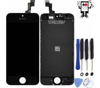 Pantalla Completa para iPhone 5S Negro Negra ARREGLATELO - 1