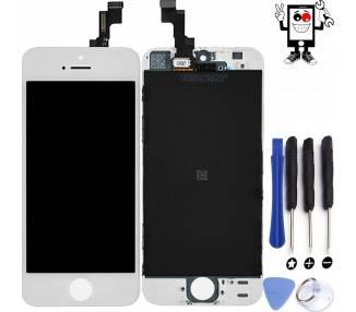 Pantalla Completa para Apple iPhone 5S Blanco Blanca ULTRA+ - 1