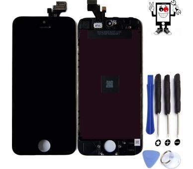Volledig Retina-scherm voor iPhone 5 Zwart Zwart ++ FIX IT - 1