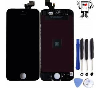 Volledig Retina-scherm voor iPhone 5 Zwart Zwart ++