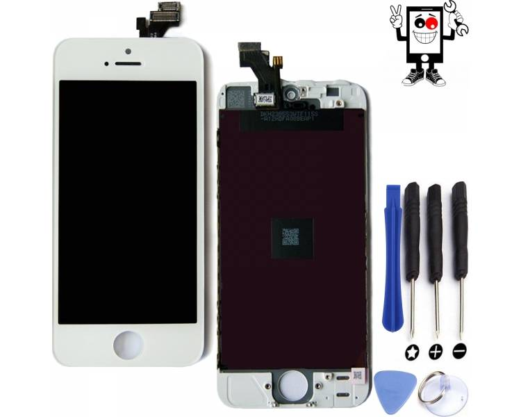 Display For Apple iPhone 5 | Color White |   ARREGLATELO - 1