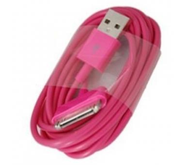 Kabel iPhone 4 / 4S - kolor Fuxia ARREGLATELO - 5