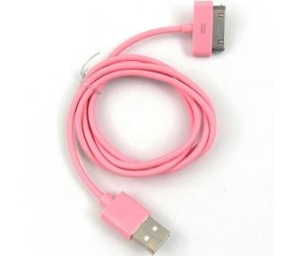 iPhone 4/4S Cable - Rose Color ARREGLATELO - 1