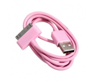 iPhone 4/4S Cable - Rose Color ARREGLATELO - 3
