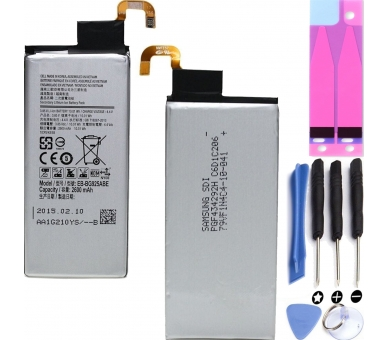 Battery For Samsung Galaxy S6 Edge , Part Number: EB-BG925ABA  - 1