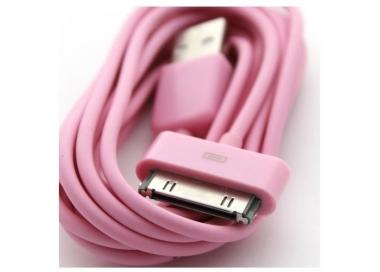 iPhone 4/4S Cable - Rose Color ARREGLATELO - 5