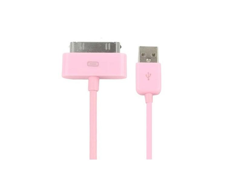 iPhone 4 / 4S-kabel - roze kleur ARREGLATELO - 7