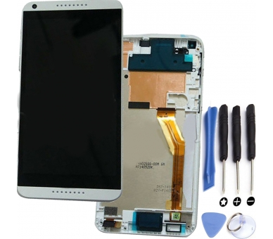 Display For HTC 816, Color White, With Frame HTC - 1