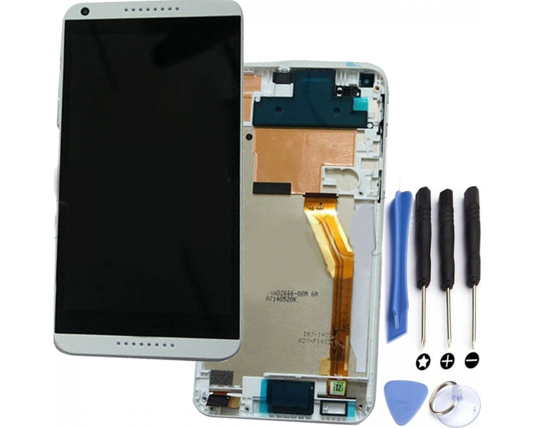 Display For HTC 816 | Color White | With Frame |  HTC - 1