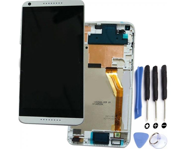 Volledig scherm met frame voor HTC Desire 816 816D 816T Wit Wit HTC - 1