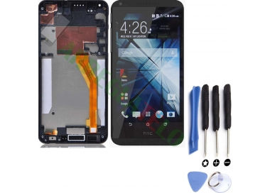 Pantalla Completa con Marco para HTC Desire 816 816D 816T Negro Negra HTC - 1