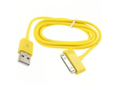iPhone 4/4S Cable - Yellow Color ARREGLATELO - 2