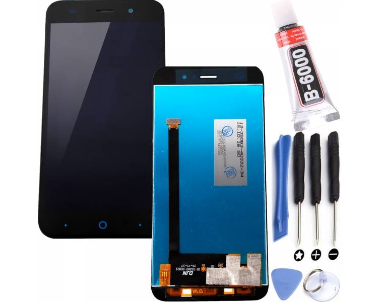 Display For ZTE Blade V6 | Color Black |   ULTRA+ - 1