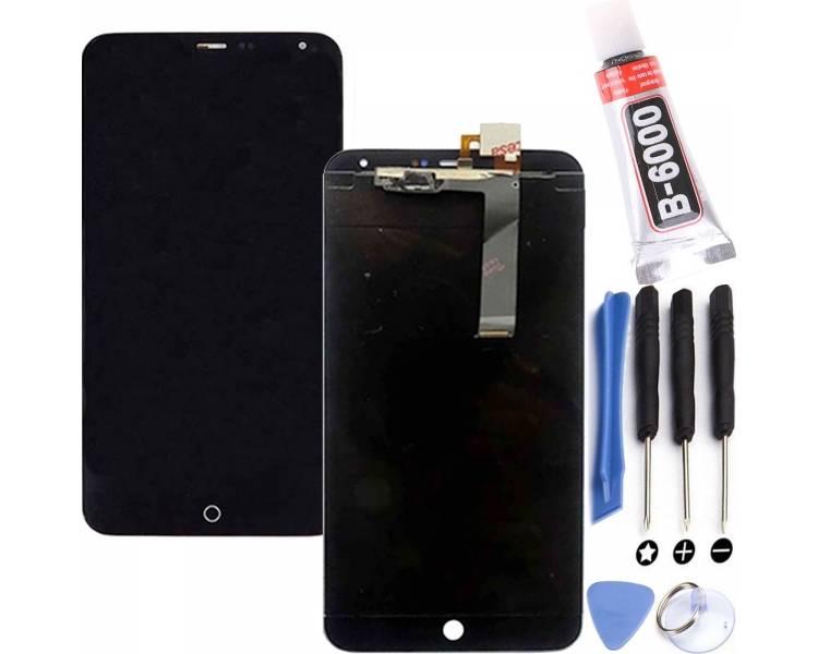 Ecran pour Meizu MX4 Noir ULTRA+ - 1