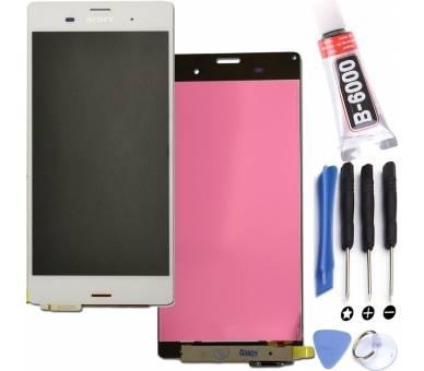 Vollbild für Sony Xperia Z3 D6603 Weiß Weiß ARREGLATELO - 1
