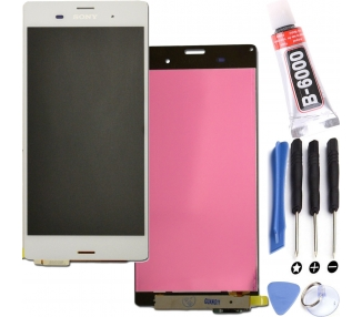 Display For Sony Xperia Z3, Color White