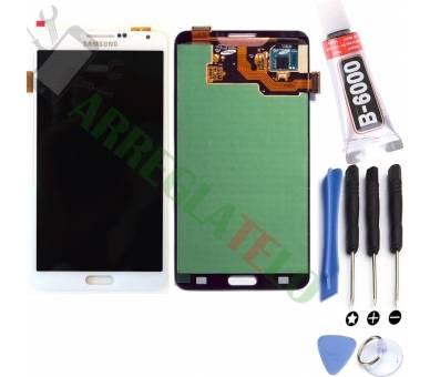 Vollbild für Samsung Galaxy Note 3 Weiß Weiß ARREGLATELO - 1