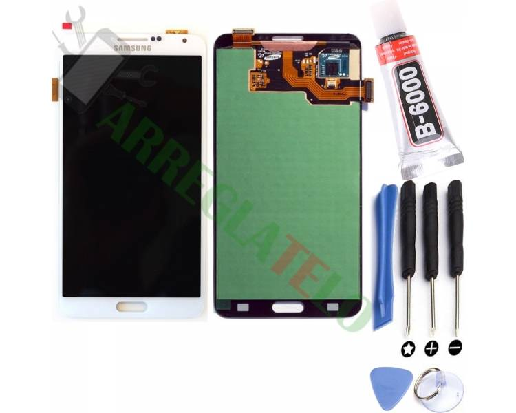 Pantalla Completa para Samsung Galaxy Note 3 Blanco Blanca ULTRA+ - 1