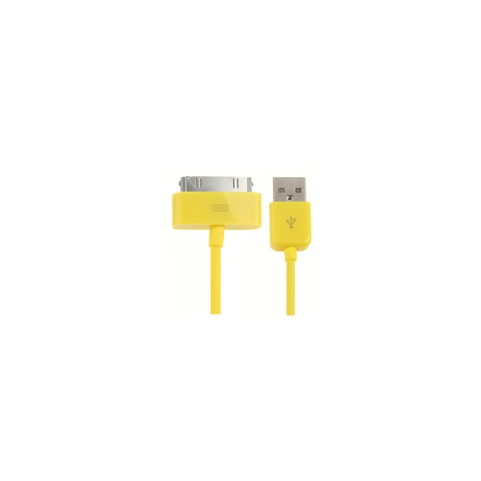 Cable usb carga cargador datos Amarillo para iPhone Ipod Ipad 3 3G 3GS 4 4S ARREGLATELO - 3
