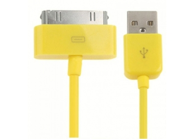 iPhone 4/4S Cable - Yellow Color ARREGLATELO - 3