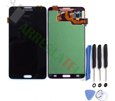 Pantalla Completa para Samsung Galaxy Note 3 Negro Negra ULTRA+ - 1