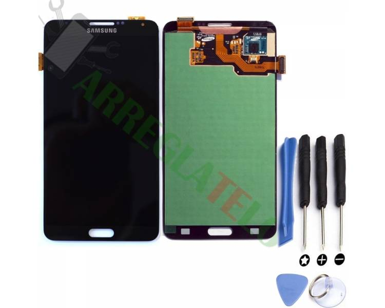 Bildschirm Display für Samsung Galaxy Note 3 Schwarz ARREGLATELO - 1
