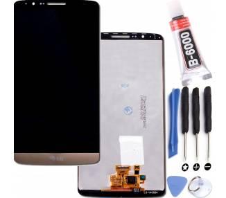 Pantalla Completa para LG G3 D855 Blanco Blanca ARREGLATELO - 1