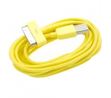 iPhone 4 / 4S-kabel - gele kleur ARREGLATELO - 4
