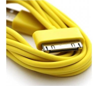iPhone 4 / 4S-kabel - gele kleur ARREGLATELO - 5