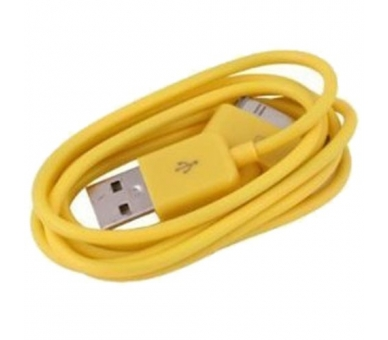 iPhone 4 / 4S Kabel - Gelbe Farbe ARREGLATELO - 6