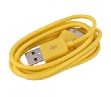 iPhone 4 / 4S-kabel - gele kleur ARREGLATELO - 6