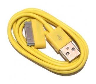 Cable usb carga cargador datos Amarillo para iPhone Ipod Ipad 3 3G 3GS 4 4S ARREGLATELO - 7