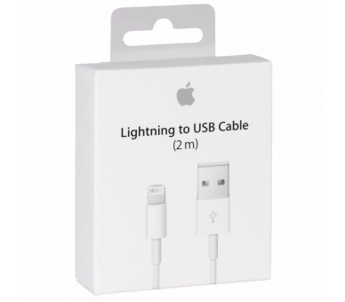 Cable Cargador para iPhone 11 SE XS X 8 7 5S XR 6 6S Plus Pro Max 2M 3M Original Apple - 13