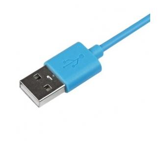 Cable usb carga cargador datos Color Azul para iPhone Ipod Ipad 3 3G 3GS 4 4S ARREGLATELO - 2