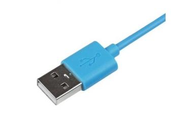 iPhone 4/4S Cable - Blue Color ARREGLATELO - 2