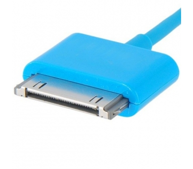 Cable usb carga cargador datos Color Azul para iPhone Ipod Ipad 3 3G 3GS 4 4S ARREGLATELO - 3