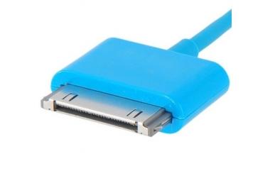 iPhone 4/4S Cable - Blue Color ARREGLATELO - 3