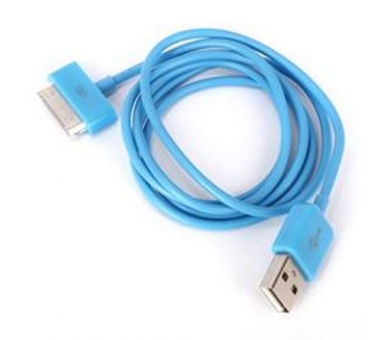 iPhone 4 / 4S-kabel - blauwe kleur ARREGLATELO - 4