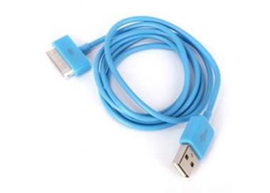 Cable usb carga cargador datos Color Azul para iPhone Ipod Ipad 3 3G 3GS 4 4S ARREGLATELO - 4