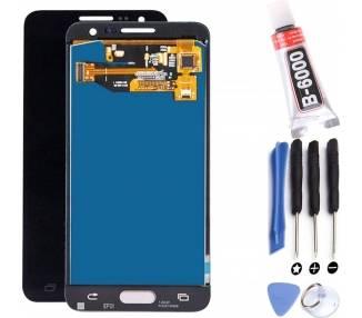 Pantalla para Samsung Galaxy A5 A500F Azul Oscuro Negro TFT  - 1
