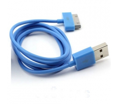 iPhone 4/4S Cable - Blue Color  - 5