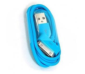 iPhone 4/4S Cable - Blue Color ARREGLATELO - 6
