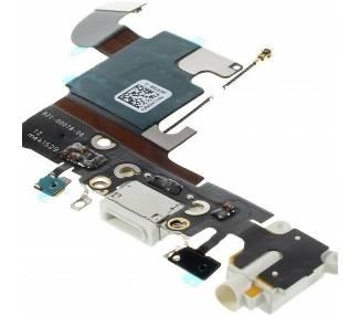 Flex Carga Microfono para iPhone 6S Blanco Blanca  - 1