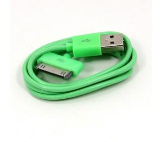 iPhone 4/4S Cable - Green Color ARREGLATELO - 3