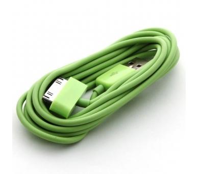 iPhone 4/4S Cable - Green Color ARREGLATELO - 4