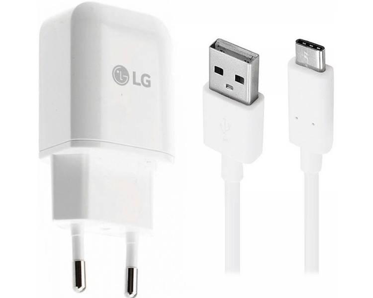 Cargador Cable USB Tipo C Original LG MCS-H05ED Carga Rapida para V30 G6 G5 V20 LG - 1