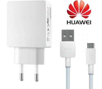 Huawei HW050200E3W Charger + Micro USB Cable - Color White Huawei - 1
