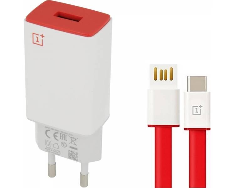 Cargador Original OnePlus AY0520 con cable USB Tipo C para One Plus 2 3 3T 5 OnePlus - 1